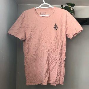 Pink Volcom t-shirt